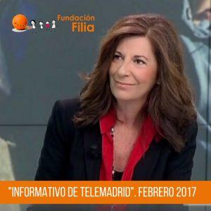 Filia en Informativos de Telemadrid