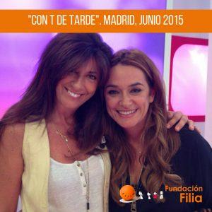 """Fundación Filia en """"Con T de Tarde"""""""