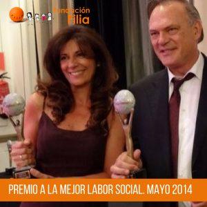 Premio a la mejor labor social Fundación Filia