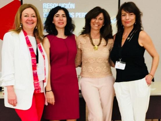 Lucía Pascual, Eva Garrosa, Lucía del Prado y Alejandra Grepi.