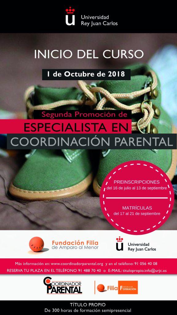 Segunda Promoción de Especialista de Coordinación Parental