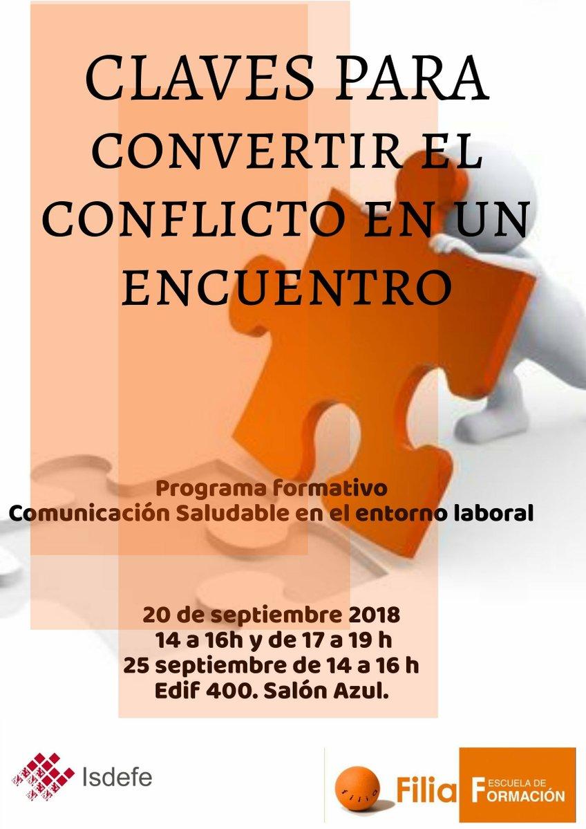 """Cartel """"Cómo Convertir un Conflicto en un Encuentro"""""""