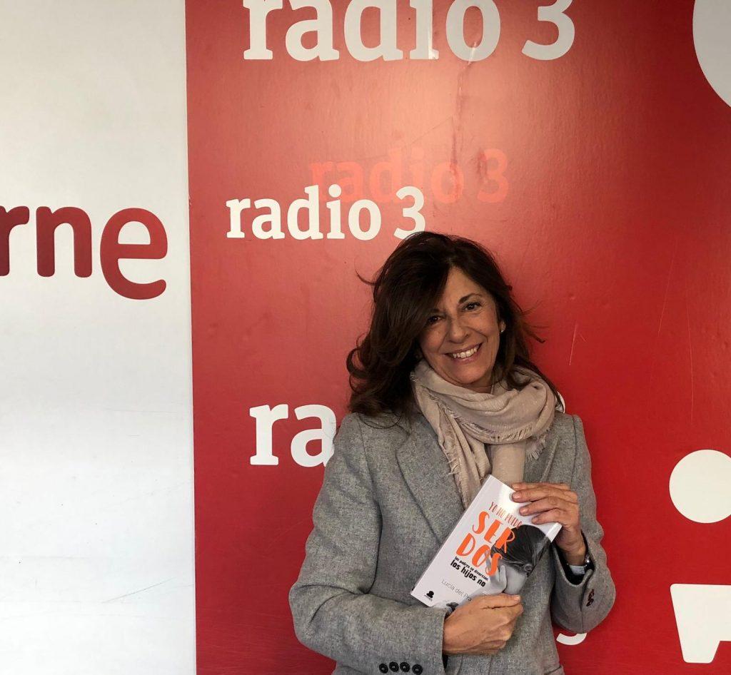 Lucía del Prado en RNE presenta su libro