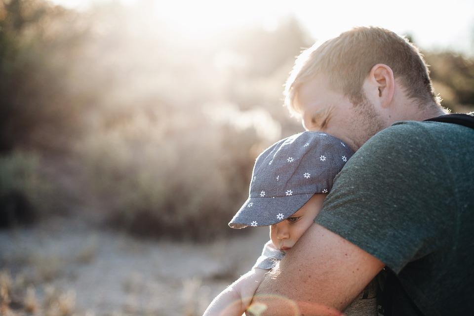 El amor de un padre a un hijo