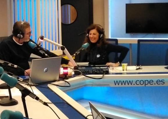 Lucia del Prado en Herrera en La Cope con Jon Uriarte