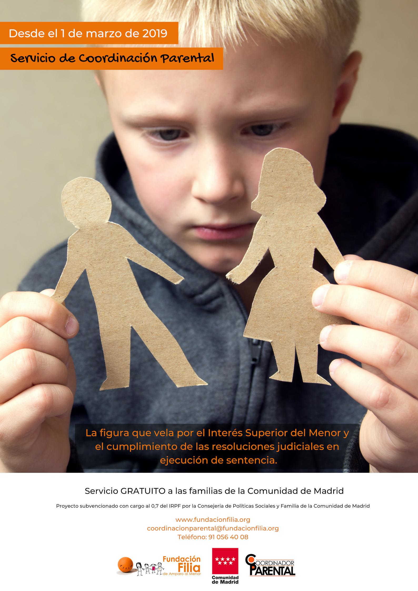 Servicio de Coordinación Parental de la COMUNIDAD DE MADRID