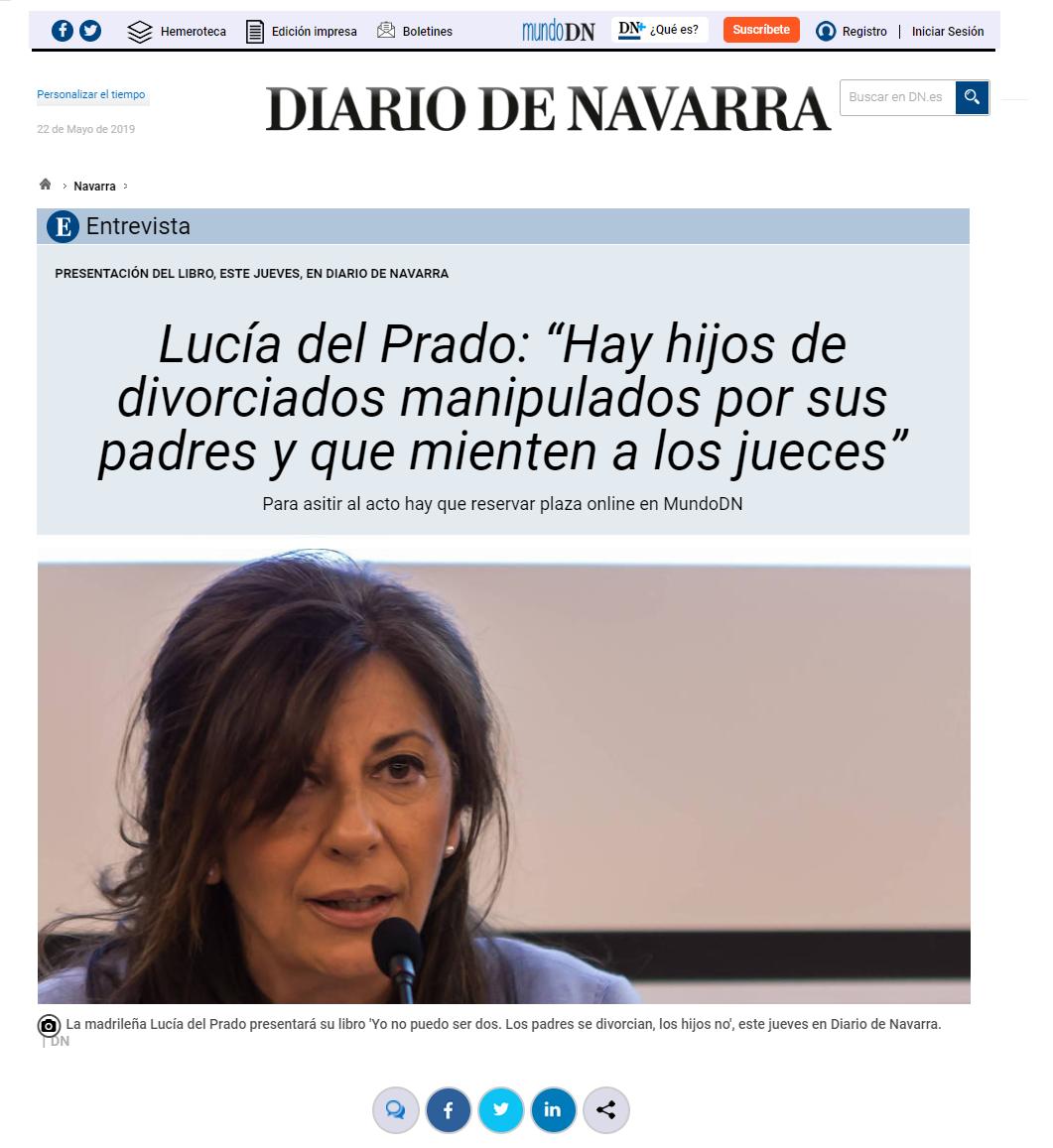 Lucia del Prado Fundación Filia Coordinador Parental en Navarra