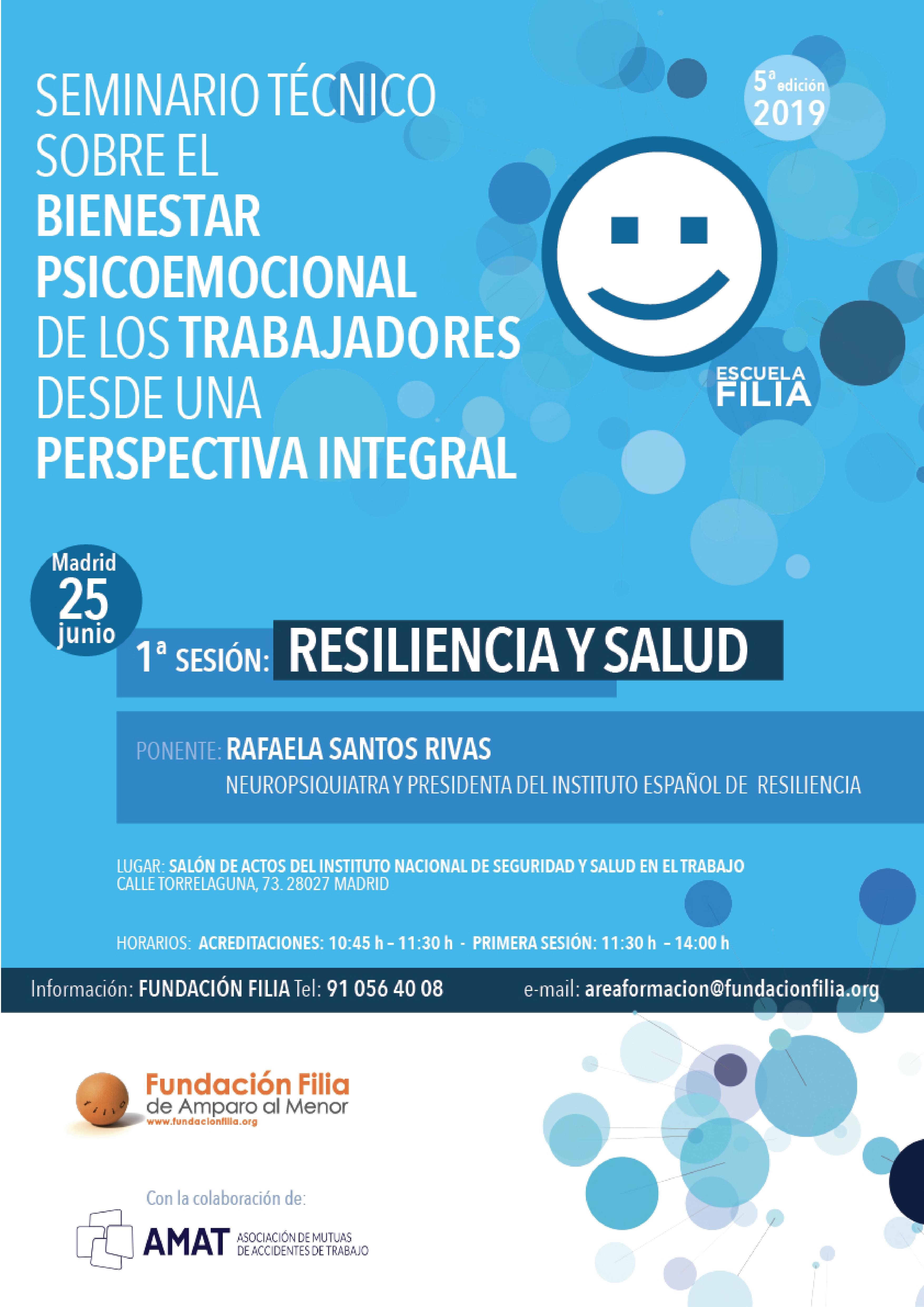 Seminario Técnico sobre el bienestar psicoemocional de los trabajadores desde una perspectiva integral, Escuela Filia y AMAT
