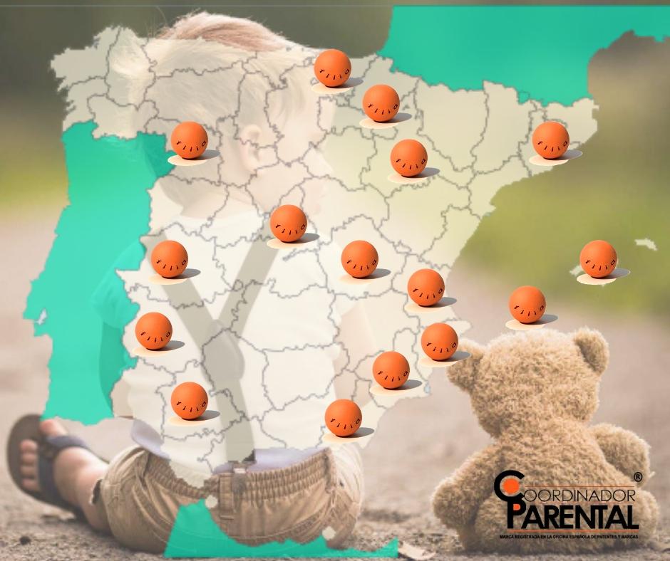 Provincias con Coordinadores Parentales certificados por Fundación Filia