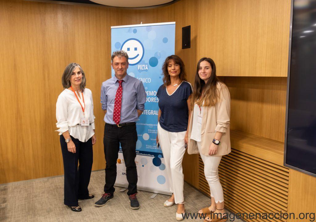 D. Manuel Martín-Loeches Garrido con Fundación Filia