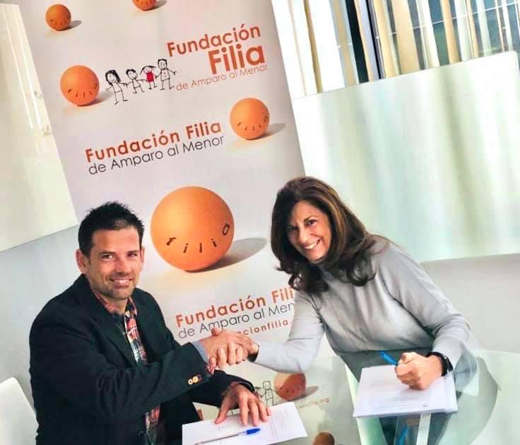 Firma del acuerdo 2BePart la primera Aplicación móvil gratuita en España para favorecer la comunicación de las familias que están en intervención de Coordinación Parental