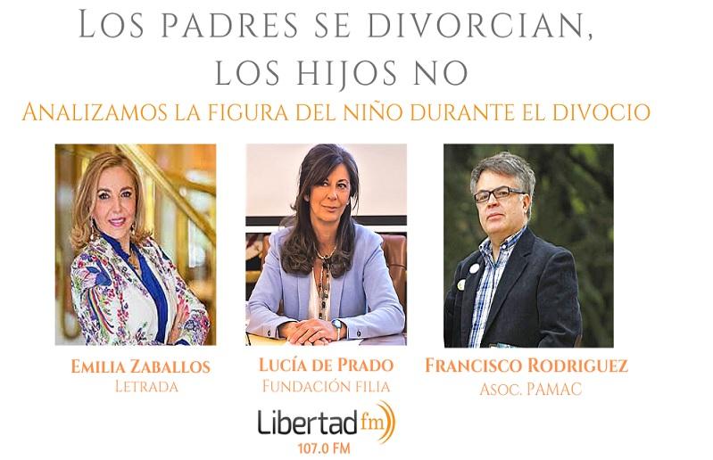 lucia en radio libertad_Los padres se divorcian los hijos NO