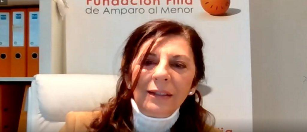 Lucia del Prado en Inauguracion Sexto Seminario Bienestar Psicoemocional