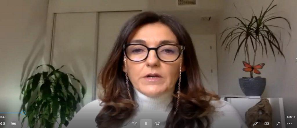 Techu Arranz en Inauguracion Sexto Seminario Bienestar Psicoemocional